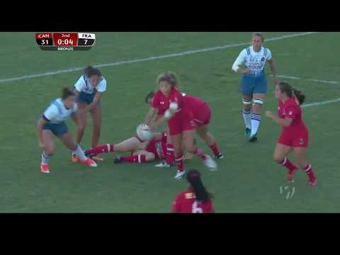 2017 Clermont Sevens — Day 2 — Highlights