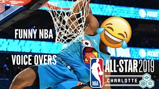 FUNNIEST NBA VOICE OVERS 2019! *EVER* 😂