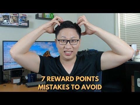 Common Reward Points Mistakes to Avoid