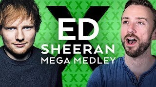 The Ed Sheeran Mega Medley - Sam Tsui and Peter Hollens