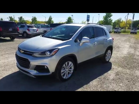 2017 Chevy Trax Premier Full Review Silver Ice Metallic