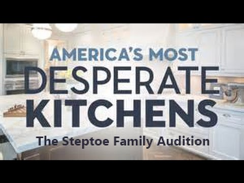 HGTV's America's Most Desperate Kitchens - The Steptoe Family