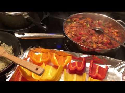 homemade-stuffed-peppers-recipe---#lowcarb-#keto