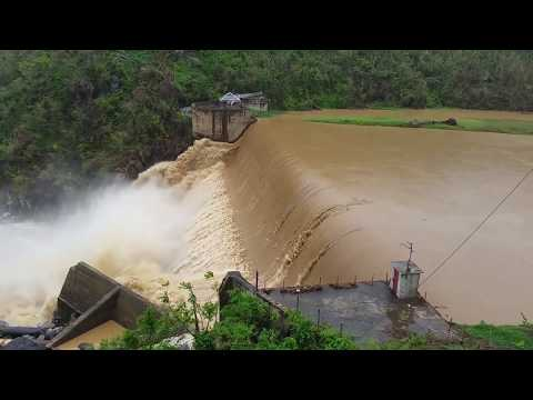 Puerto Rico: Comerio Dam Overflows After Torrential Rains