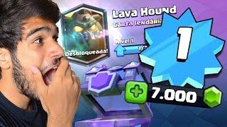 CONSEGUI A PRIMEIRA LENDÁRIA NO NÍVEL 1 MAIS GEMADO DO CLASH ROYALE #2 thumbnail