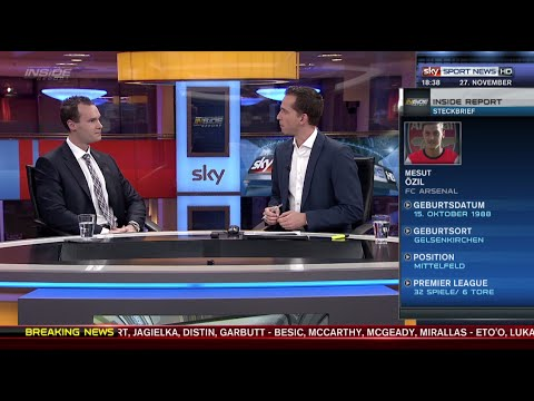 Sky Sport News HD - Prof. Dr. Tobias Haupt über Social Media Marketing im Spitzensport