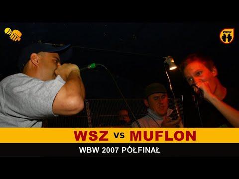 MUFLON vs WUJEK SAMO ZŁO 🎤 WBW 2007 🎤 Półfinał V Edycji Freestyle Battle