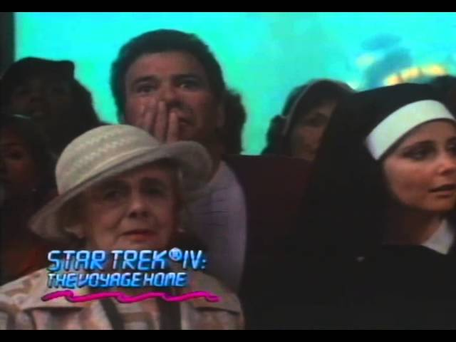 Star Trek 4: The Voyage Home Trailer 1986