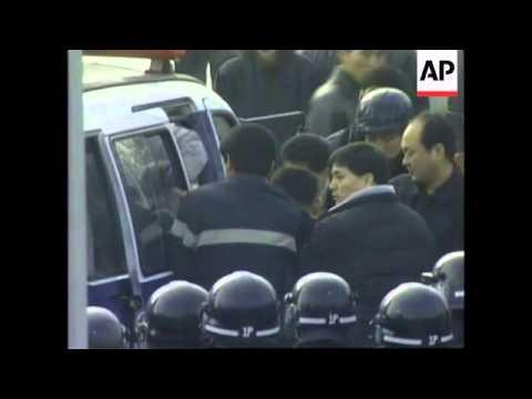 SOUTH KOREA: DAEWOO MOTORS: PROTESTORS
