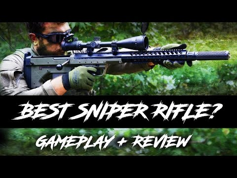 Airsoft Sniper Silverback SRS A1 Rifle Gameplay / Review