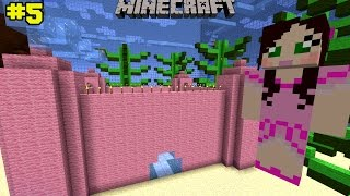 Minecraft: Notch Land - PINK CASTLE PARKOUR [5]