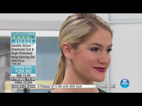 HSN | Sevilla Silver Jewelry with Technibond 10.04.2016 - 01 PM