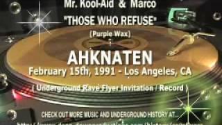 Ddp - Ahknaten Feb 15 1991 Mr Kool Aid And Marco Those Who Refuse Ddp