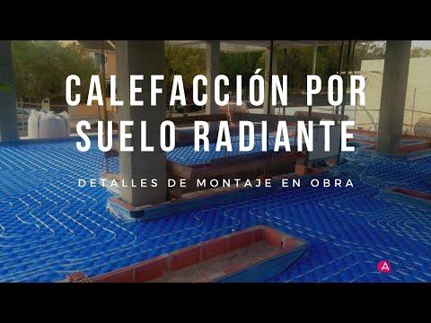 Instalaci n de suelo radiante en vivienda unifamiliar youtube - Instalacion suelo radiante ...