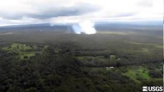 Lava overflight on Monday Sept. 8