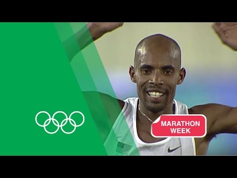 Meb Keflezighi relives the 2004 Athens Marathon   Olympic Rewind
