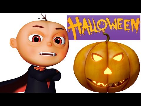 Thumbnail: Five Little Babies In A Haunted House (SINGLES) | Halloween Song | Videogyan 3d Rhymes | Scary Song
