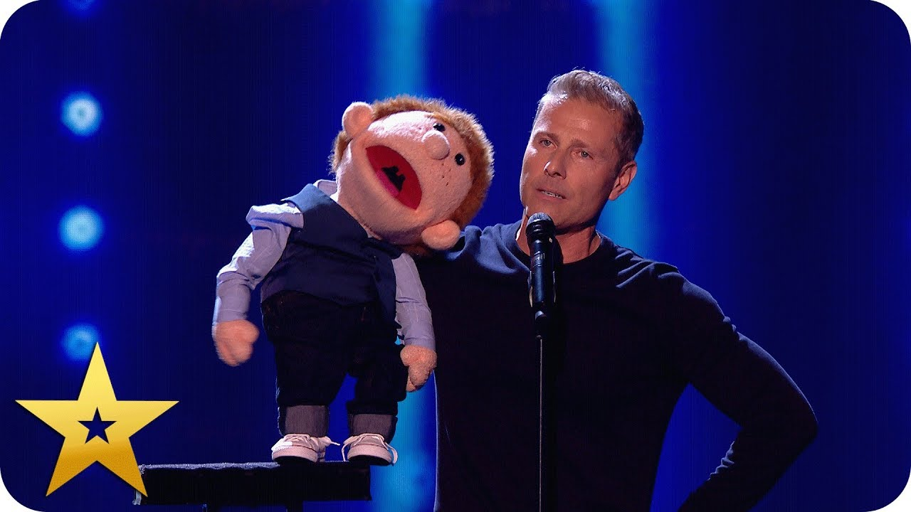 Download Say whaaat?! Paul Zerdin left speechless by puppet!   BGT: The Champions