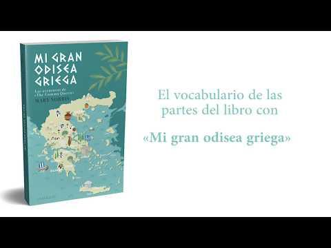 """el-vocabulario-de-las-partes-del-libro-con-""""mi-gran-odisea-griega"""""""