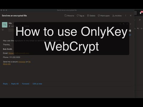 How-To: Use OnlyKey WebCrypt