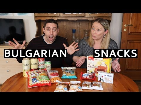 Tasting BULGARIAN Snacks And Beers: Sofia, Bulgaria