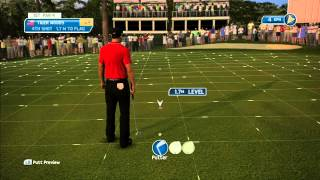 Tiger Woods PGA TOUR 14 Demo - Gameplay