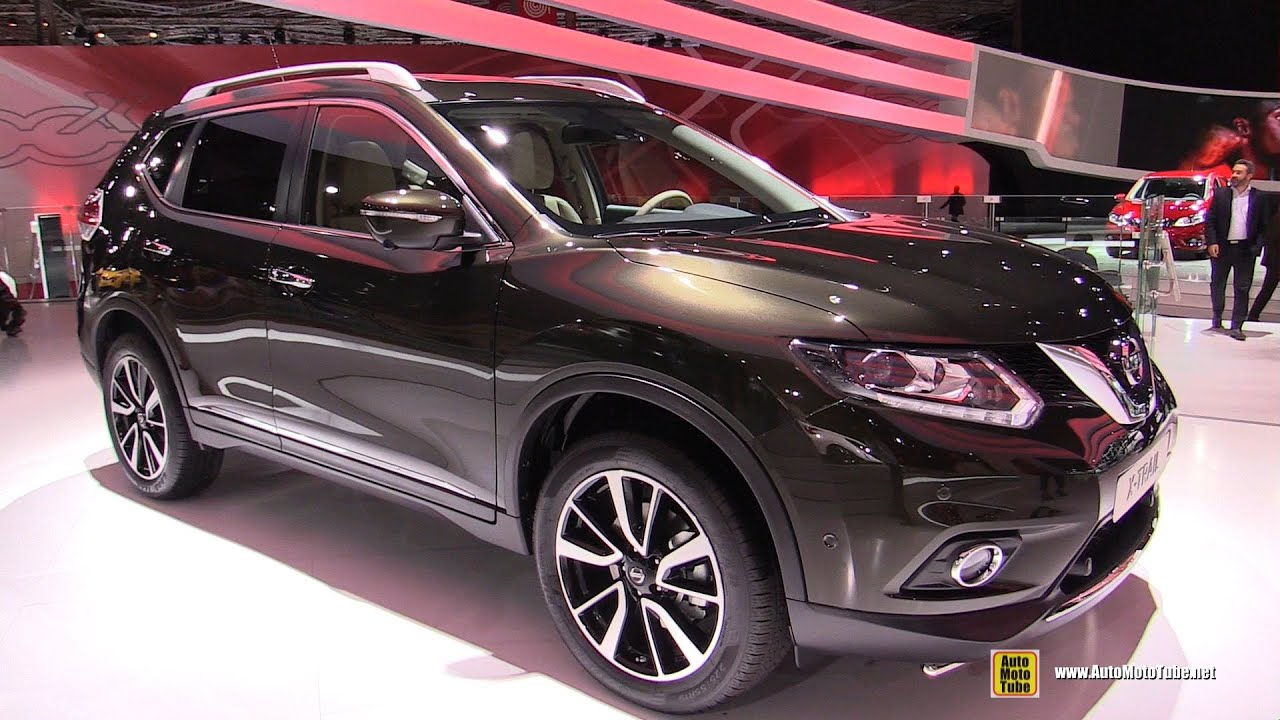 2015 nissan x trail tekna exterior and interior walkaround 2014 paris auto show youtube. Black Bedroom Furniture Sets. Home Design Ideas