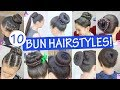 The Best Bun hairstyles - Beautiful Hairstyles (Compilation) - Best Juda Hairstyles