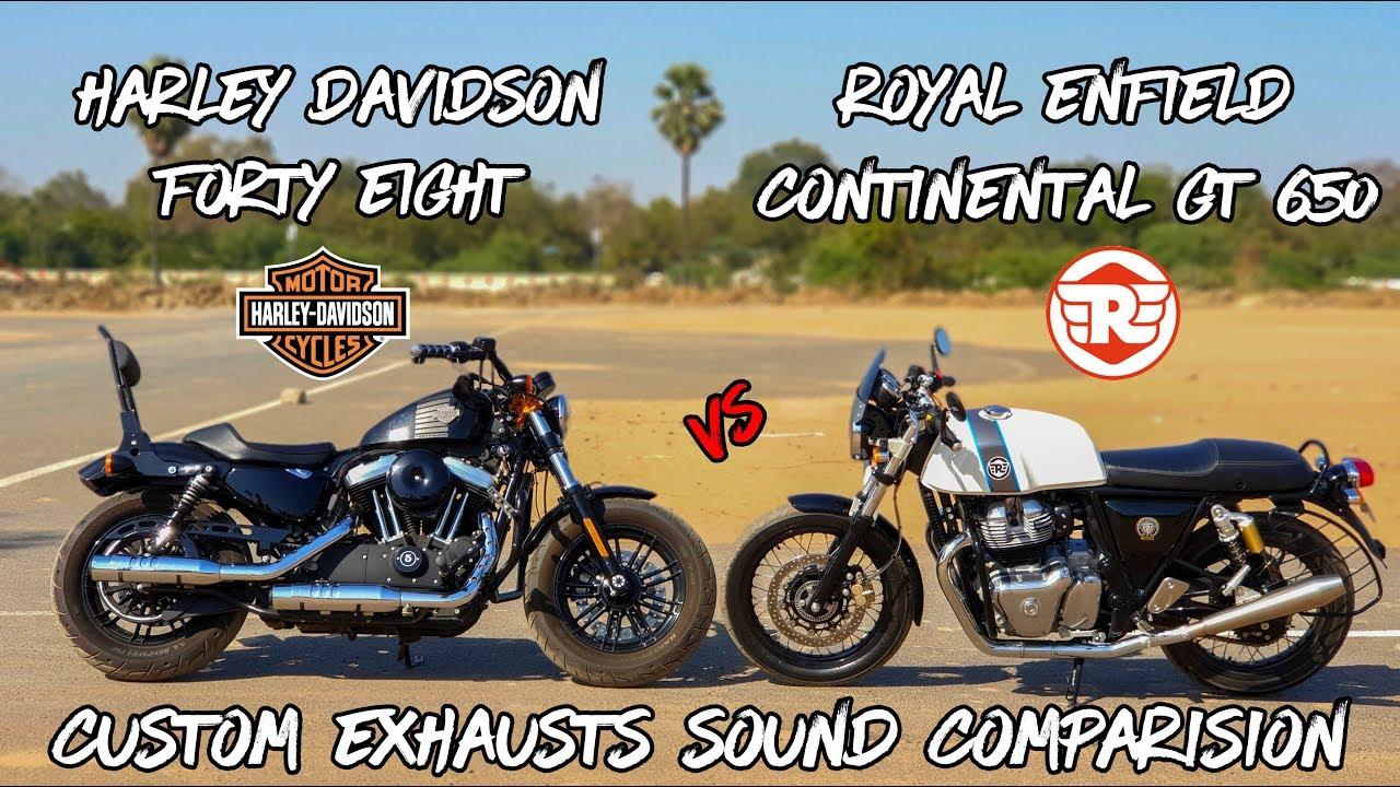 Royal Enfield Continental GT 650 vs Harley Davidson Forty