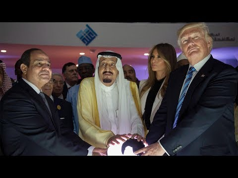 A Simple Question: Donald Trump's embarrassing visit to Saud