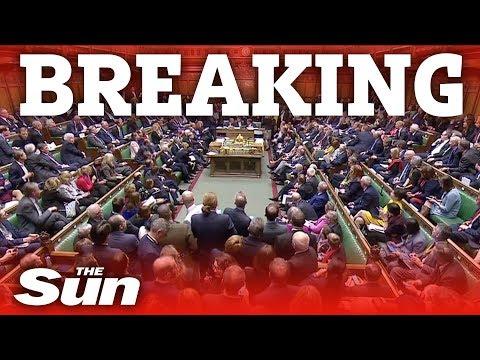 Brexit vote TIE, speaker Bercow steps in...
