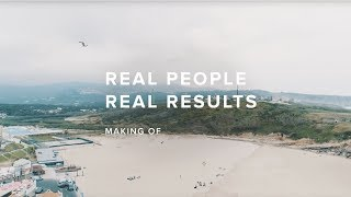 Real People, Real Results | Making Of