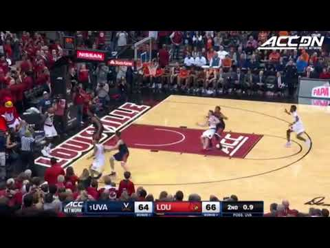Virginia Unbelievable 8 Points in 7 seconds to get comeback win vs Louisville Mp3