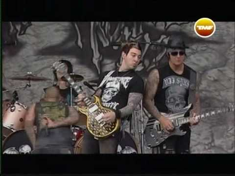 [High quality] Avenged Sevenfold - Critical Acclaim live at Graspop 2008 with interview [HQ]