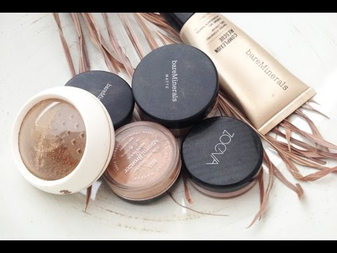 🌸 MINERAL MAKE UP Mineral Foundation Mineral Puder GESUND & SCHÖN