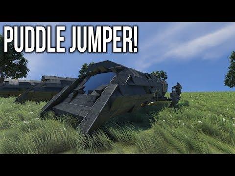 STARGATE Puddle Jumpers! - Space Engineers Workshop Spotlight!