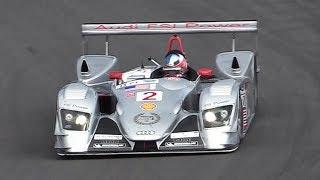 2005 Audi R8 LMP V8 FSI Sound: Accelerations & Fly Bys at Imola & Nürburgring!