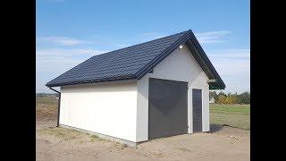 Garaż drewniany 35m2 wg. mojego projektu
