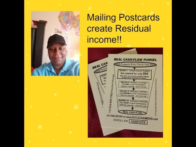 How to make money with postcards