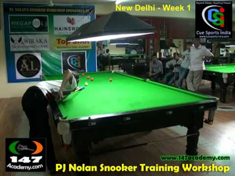 Cue Sports India Snooker Workshop 1 With PJ Nolan