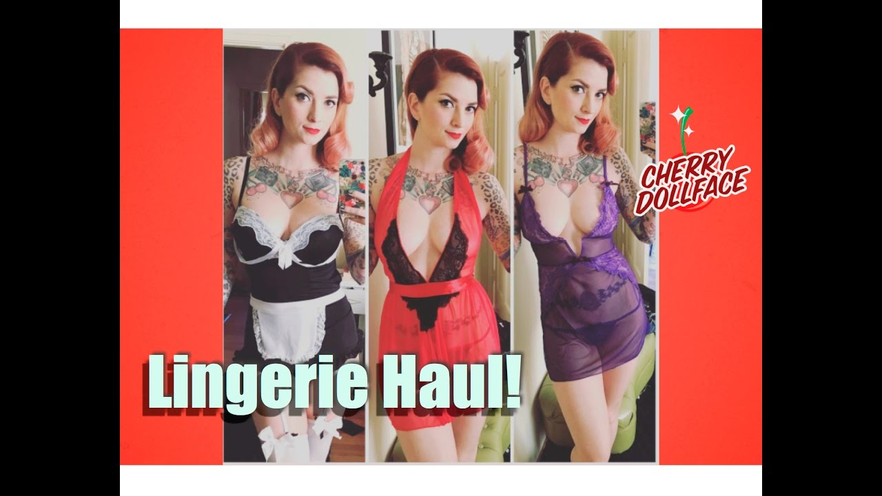 Amazon Eve Topless sexy lingerie haul with adam & evecherry dollface