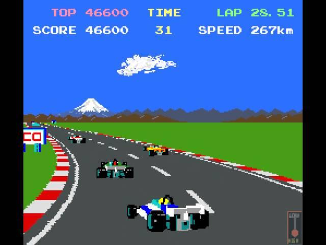 Arcade Game: Pole Position II (1983 Namco/Atari)