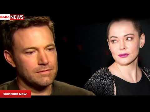 Ben Affleck Accused of Sexual Misconduct, Rose McGowan Goes on the Attack.