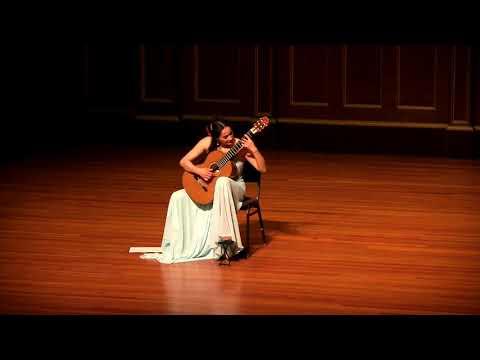 Zaira Meneses plays Una limosna por el amor de Dios by Agustín Barrios