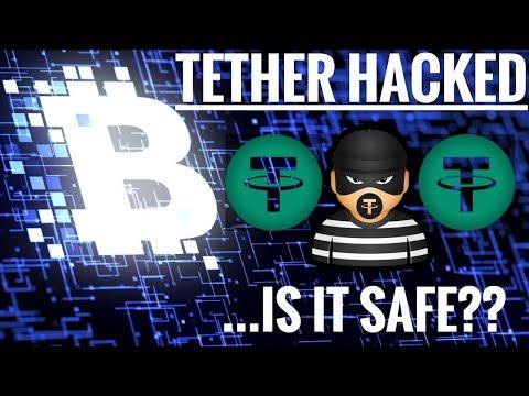 Tether Hacked!  Is it Safe? USDT