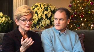 Michigan Governor Jennifer Granholm and Dan Mulhern Interview for The Michigan Inaugural 2011 1 of 2