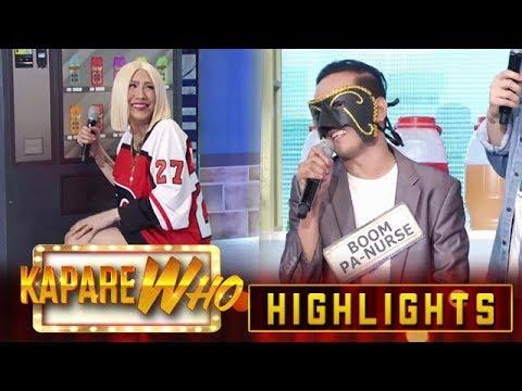 Vice can't take Boom Pa Nurse's answer | It's Showtime KapareWho