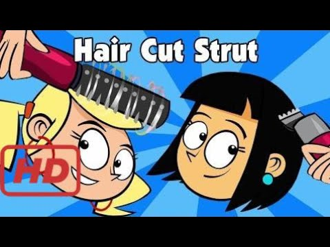 Kids Song Hair Cut Strut Childrens Country Music Line Dance Video