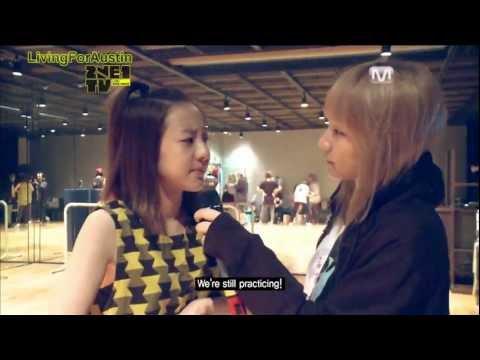 2NE1 TV - Practicing Choreography for