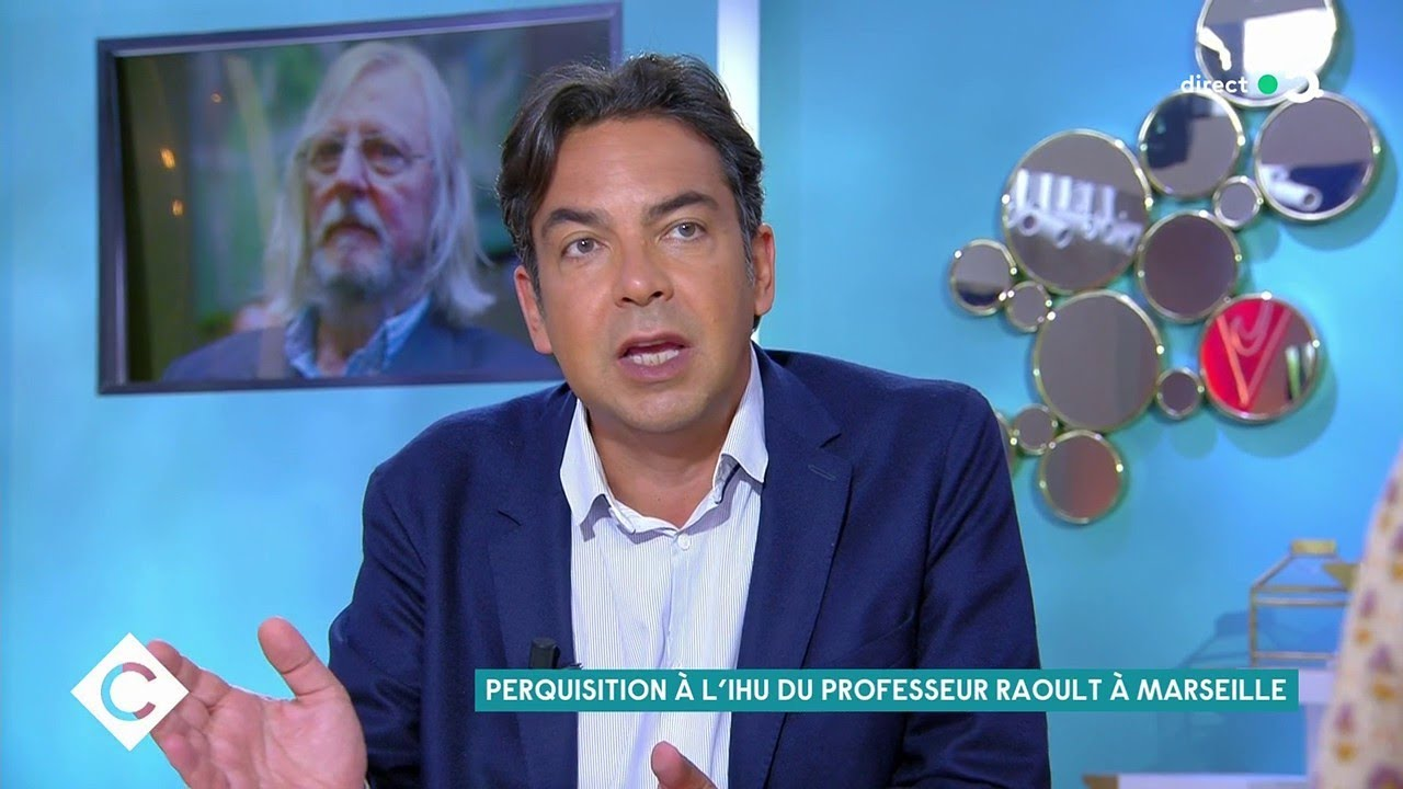 Perquisition à l'IHU du Professeur Raoult - C à Vous - 14/06/2021